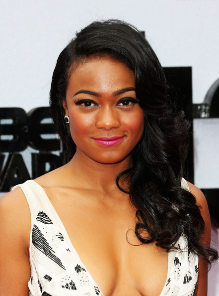 Download this Tatyana Ali Actress Attends The Bet Awards Nokia picture