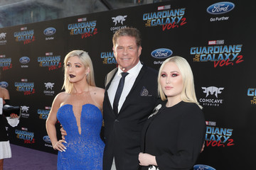 Taylor-Ann Hasselhoff The World Premiere of Marvel Studios' 'Guardians of the Galaxy Vol. 2'