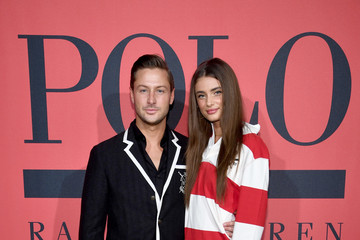 Taylor Hill Polo Red Rush Launch Party With Ansel Elgort