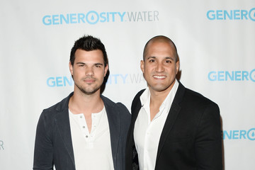 Taylor Lautner Generosity Water Launch - Arrivals