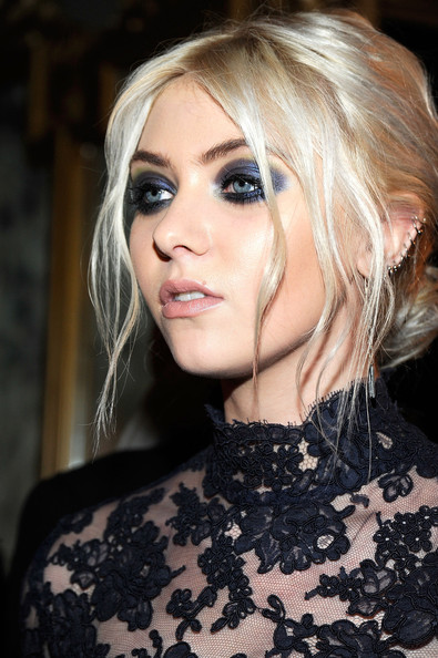 Taylor Momsen - Marchesa - Front Row - Fall 2012 Mercedes-Benz Fashion Week