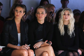 Taylor Momsen Monique Lhuillier - Front Row - Mercedes-Benz Fashion Week Spring 2014