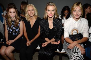 Taylor Schilling Thakoon - Front Row - Mercedes-Benz Fashion Week Spring 2015