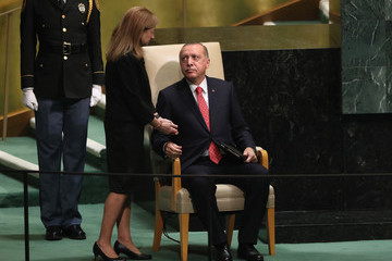 Tayyip Erdogan World Leaders Address The United Nations General Assembly