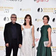 Tcheky Karyo Celebrities Pose at the 55th Monte Carlo TV Festival