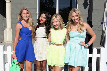 Teala Dunn Lia Marie Johnson Variety's Power Of Youth Presented By Hasbro And GenerationOn - Red Carpet