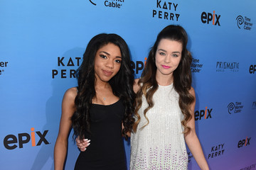 Teala Dunn Screening Of EPIX's 'Katy Perry: The Prismatic World Tour' - Red Carpet