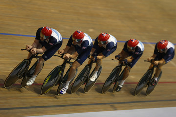Stephen Burke Team GB Track Cycling Media Session