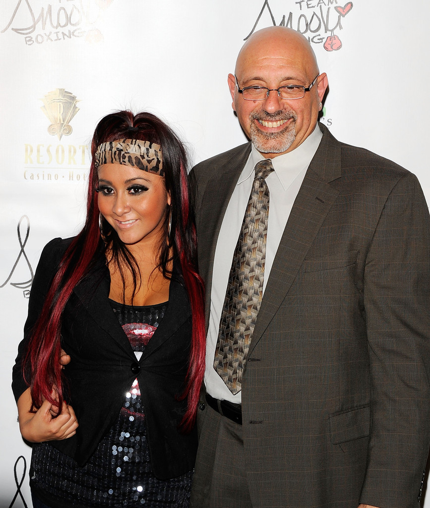 Photo of Snooki & her Father  Andy Polizzi