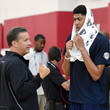 Anthony Davis John Calipari Photos