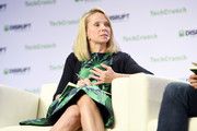 Lumi Labs Co-founder Marissa Mayer speaks onstage during TechCrunch Disrupt San Francisco 2019 at Moscone Convention Center on October 04, 2019 in San Francisco, California.