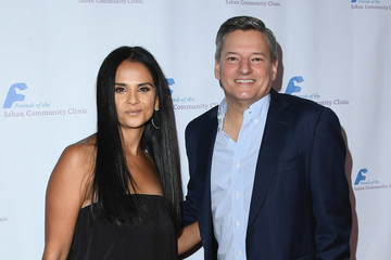 Ted Sarandos Bela Bajaria Friends Of The Saban Community Clinic's 42nd Annual Gala - Arrivals