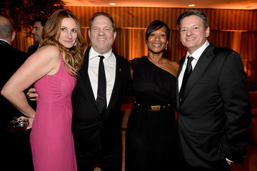 Ted Sarandos Nicole Avant The Weinstein Company & Netflix's 2014 SAG After Party In Partnership With Laura Mercier