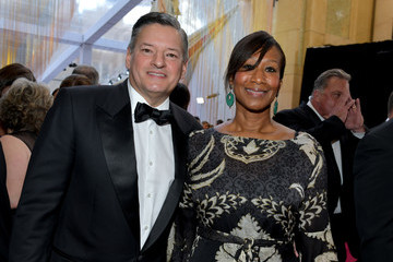 Ted Sarandos Nicole Avant 91st Annual Academy Awards - Executive Arrivals