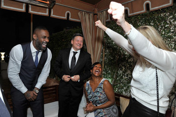Ted Sarandos Nicole Avant The Weinstein Company & Netflix's 2016 SAG After Party Hosted by Absolut Elyx