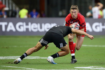Teddy Stanaway Singapore Sevens - Day 1