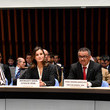 Tedros Adhanom Queen Letizia Of Spain Attends A Work Meeting at the World Heath Organization's Headquarters In Geneva