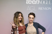 (L-R) Paris Jackson and Vera Giusti attend Teen Vogue Celebrates Young Hollywood 2020 at San Vicente Bungalows on February 05, 2020 in West Hollywood, California.