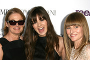 (L-R) Senior West Coast Editor of Teen Vogue Lisa Love, actress Hailee Steinfeld and Teen Vogue Editor-in-Chief Amy Astley attend the Teen Vogue Young Hollywood party on September 27, 2013 in Los Angeles, California.