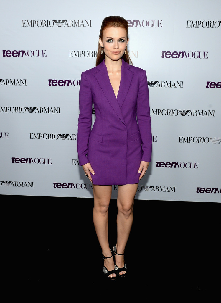 Actress Holland Roden attends Teen Vogue Young Hollywood Party on September 27, 2013 in West Hollywood, California.