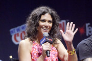"""Melissa Ponzio attends the """"Teen Wolf"""" Final Farewell during day 3 of 2016 New York Comic Con at Hammerstein Ballroom on October 8, 2016 in New York City."""