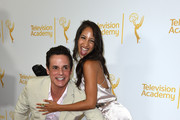 Actors Christian LeBlanc and Christel Khalil attend Television Academy's Daytime Programming Peer Group's 41st Annual Daytime Emmy Nominees Celebration at The London West Hollywood on June 19, 2014 in West Hollywood, California.