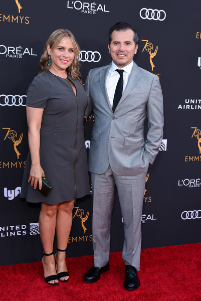 John Leguizamo and wife Justine Maurer - 2018 Pre-Emmy Party