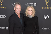 Catherine O'Hara and Bo Welch arrive as the Television Academy Honors Emmy Nominated Performers at Wallis Annenberg Center for the Performing Arts on September 20, 2019 in Beverly Hills, California.