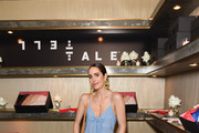 Louise Roe attends TellTale launch event with Jana Kramer at EB Florals Perfumery & Gallery on June 05, 2019 in Los Angeles, California.