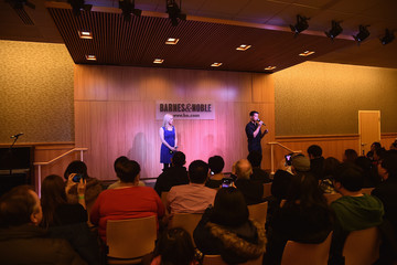 Telly Leung Katie Rose Clarke The Cast of 'Allegiance' Promotes the Original Broadway Cast Recording