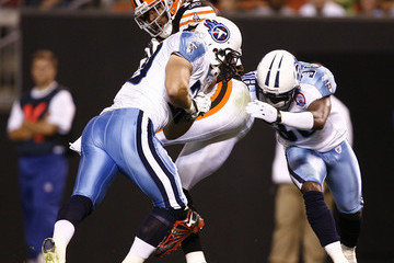 DeMarcus Faggins Tennessee Titans v Cleveland Browns