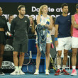 Petra Kvitova and Dominic Thiem Photos