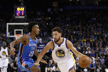 Terrance Ferguson Oklahoma City Thunder vs. Golden State Warriors