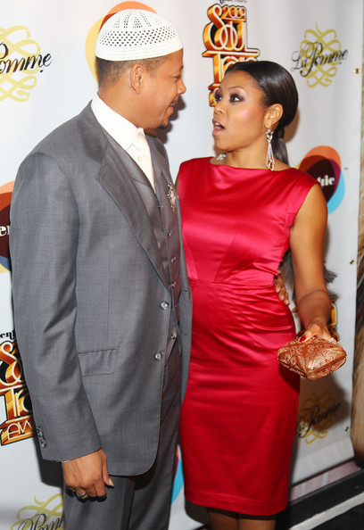Terrence howard dating taraji