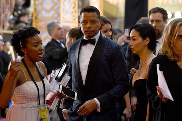 Terrence Howard 89th Annual Academy Awards - Arrivals