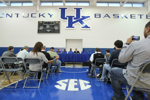 Kentucky Basketball News Conference