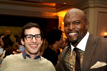 Terry Crews Andy Samberg Fox All-Star Party - Inside