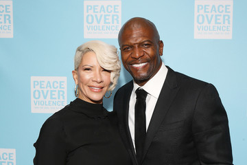 Terry Crews Rebecca Crews Peace Over Violence Gala