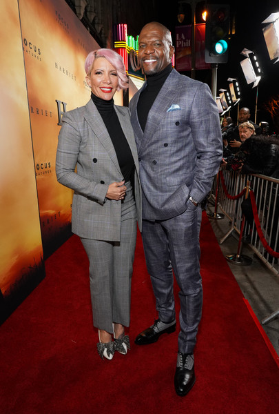 """Premiere Of Focus Features' """"Harriet"""" - Red Carpet [premiere,event,suit,red carpet,carpet,fashion,flooring,fictional character,formal wear,style,red carpet,harriet,terry crews,rebecca king-crews,l,california,los angeles,focus features,premiere,premiere]"""
