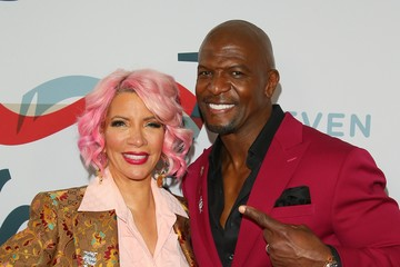 Terry Crews Rebecca King-Crews 3rd Annual Steven Tyler Grammy Viewing Party Benefiting Janie's Fund - Arrivals