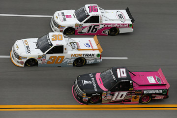Terry Jones NASCAR Camping World Truck Series Fred's 250