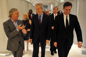 Terry Lundgren Tommy Hilfiger Celebrates Fashion's Night Out At Macy's Herald Square