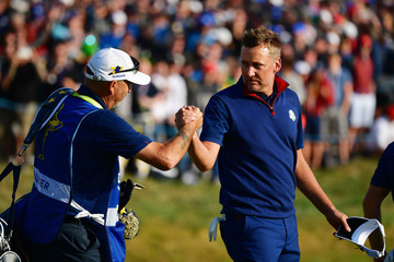 Terry Mundy 2018 Ryder Cup - Afternoon Foursome Matches