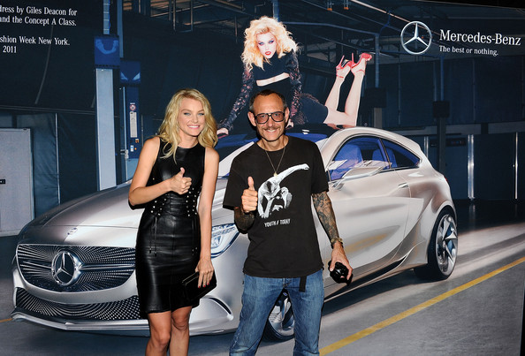 Mercedes-Benz Fashion Week Spring 2012 - Official Coverage - People and Atmosphere Day 2 [auto show,automotive design,car,vehicle,mid-size car,luxury vehicle,personal luxury car,mercedes-benz,fashion,model,lincoln center,new york city,mercedes-benz fashion week,jessica stam,terry richardson,coverage - people]