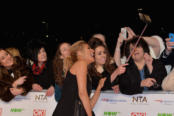 Tess Daly National Television Awards - Red Carpet Arrivals
