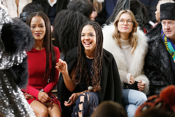 Tessa Thompson Dion Lee - Front Row - Fall 2016 MADE Fashion Week