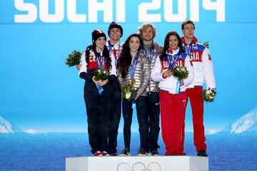 Tessa Virtue Winter Olympics: Medal Ceremonies