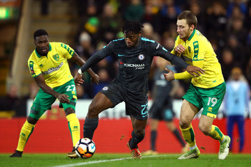 Tettey Norwich City v Chelsea - The Emirates FA Cup Third Round