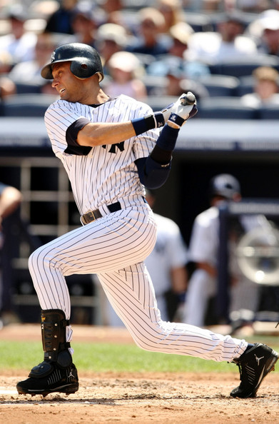 new new york yankees stadium. Derek Jeter #2 of the New York
