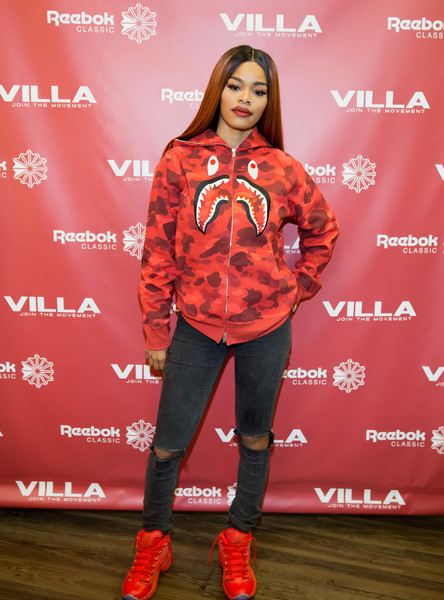 Teyana Taylor Launches Her Reebok Question Mid